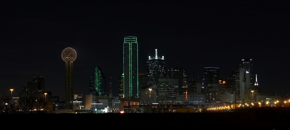 Dallas Evening Skyline